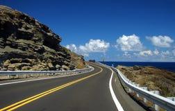 дорога океана к замотке Стоковые Изображения