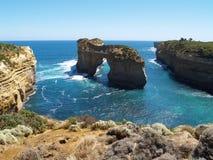 дорога океана скал большая Стоковые Фото