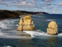 дорога океана 12 апостолов большая стоковые фотографии rf