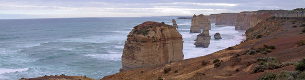 дорога океана 12 апостолов большая Стоковая Фотография