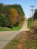 дорога осени Стоковое фото RF