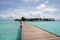 дорога острова к Стоковые Изображения