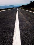 Дорога острова Стоковые Изображения