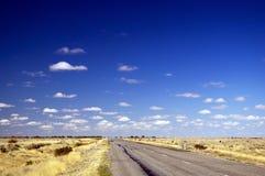 Дорога открытой местности Стоковое Фото