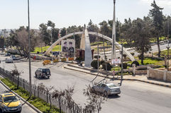 Дорога от Аммана Стоковые Фотографии RF