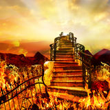 Дорога от ада к раю Стоковые Фото