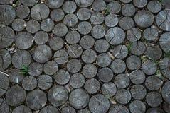 Дорога от блоков кольца деревянных Стоковое фото RF