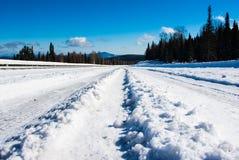 Дорога от пропуска Стоковые Фото