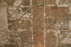 Дорога от старых кирпичей стоковая фотография