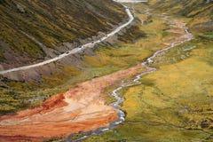 Дорога от Тибета к Yunnan в Китае Стоковая Фотография