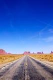 дорога памятника к долине Стоковые Изображения