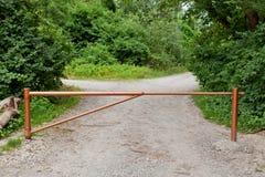 дорога пандуса конца Стоковые Изображения