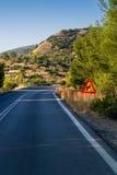 дорога пеет желтый цвет стоковое фото rf