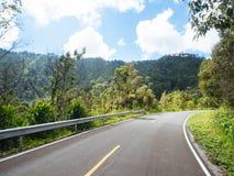 Дорога перемещения к природе Стоковые Изображения