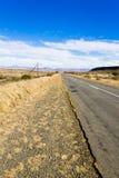 Дорога перспективы от оранжевого освободившееся государство, Южной Африки Стоковое Фото