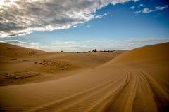 Дорога песка Стоковые Изображения