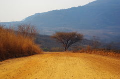 Дорога песка Стоковое фото RF