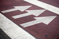 дорога пешехода маркировки скрещивания Стоковое Изображение RF