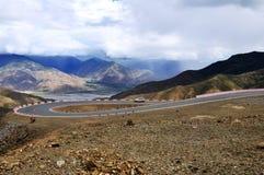 дорога плато Стоковое Изображение RF