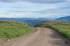Дорога плато Blacktail Стоковое Изображение