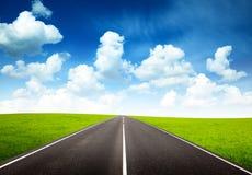 дорога поля Стоковое фото RF