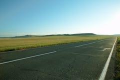дорога поля стоковая фотография rf