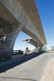 Дорога под реконструкцией Стоковое Изображение