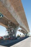 Дорога под реконструкцией Стоковая Фотография RF