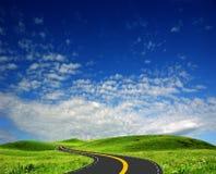 дорога прерии Стоковая Фотография