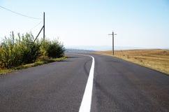 дорога природы к стоковая фотография rf