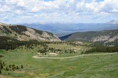 дорога пропуска горы хлопока colorado стоковые фото