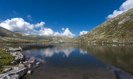 Дорога пропуска Gotthard, Тичино, Швейцария стоковое фото rf