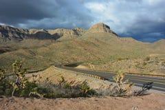 Дорога пустыни - гранд-каньон Стоковая Фотография