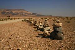 дорога пустыни к Стоковое Фото
