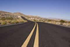 дорога пустыни Стоковая Фотография RF