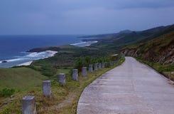 Дорога пляжей Стоковое Фото
