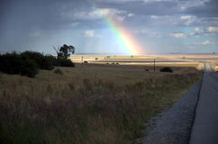 дорога радуги Стоковое Изображение RF