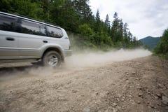 дорога ралли грязи Стоковые Фото