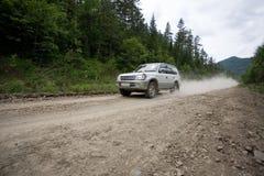 дорога ралли грязи Стоковые Фотографии RF