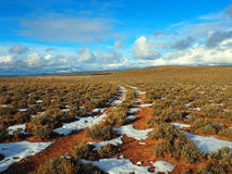 Дорога ранчо стоковое фото rf