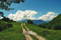 дорога рая к Стоковая Фотография