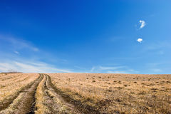 дорога рая к Стоковое Изображение RF
