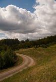 дорога сада яблока Стоковая Фотография RF