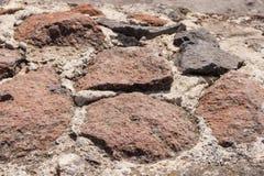 Дорога сделана камня Стоковое Изображение