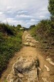 дорога сельская Испания Стоковое Фото