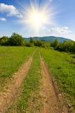 дорога сельская стоковые фотографии rf