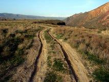 дорога сельская Стоковая Фотография