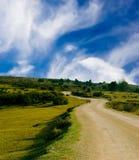 дорога сельской местности Стоковое Фото