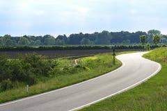 дорога солнечная Стоковые Изображения RF