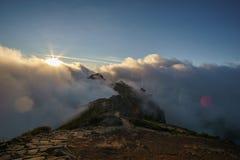 Дорога солнца Стоковое Изображение RF